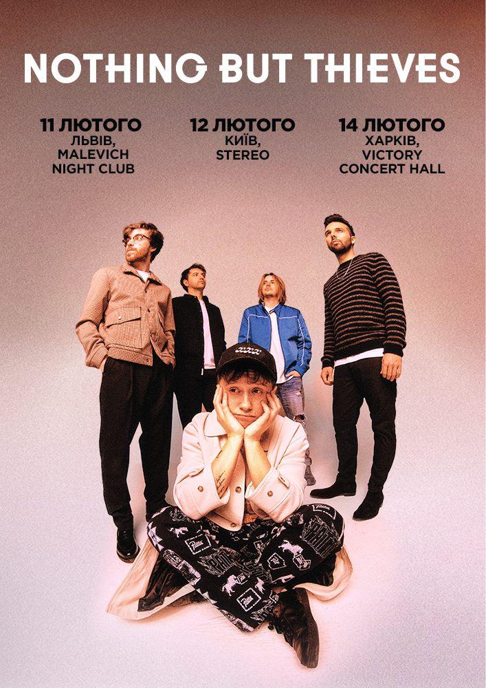 Купить билет на Nothing But Thieves в Малевич: concert arena & night club Входной билет