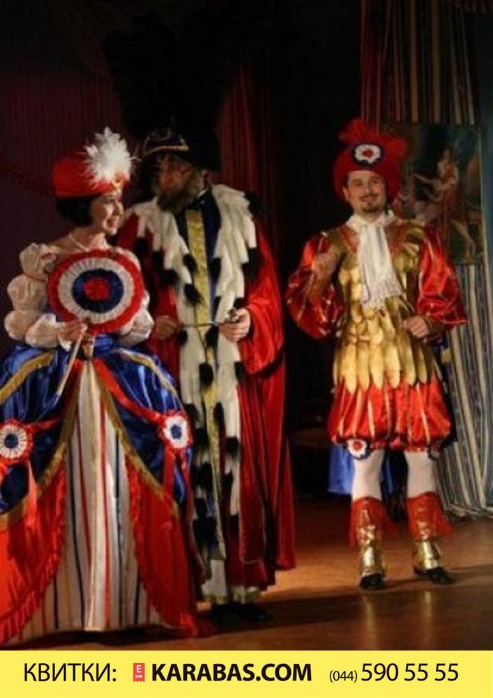 Купить билет на Звана вечеря з італійцями в Київський національний академічний театр оперети Театр у Фойє