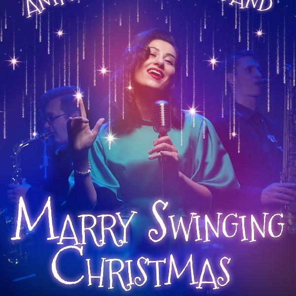 Merry Swinging Christmas. Різдвяні пісні у виконанні Aniko Dolidze Big Band