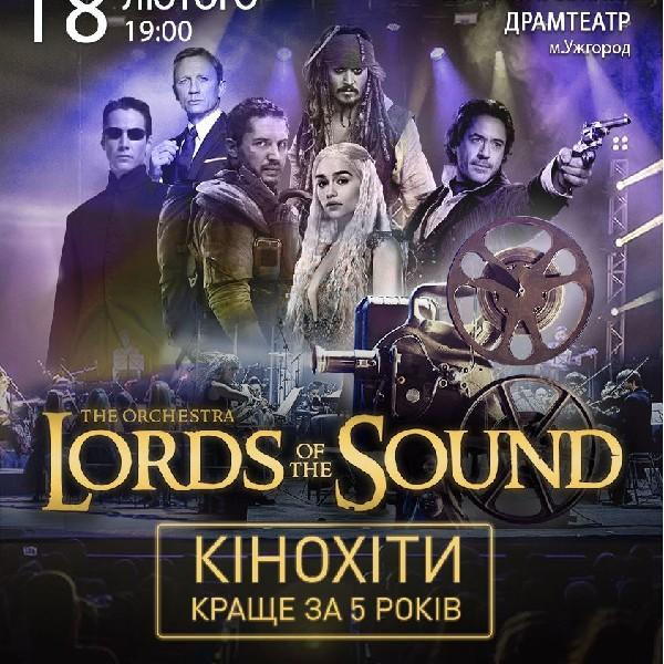 """Lords of the Sound """"КІНОХІТИ: КРАЩЕ ЗА 5 РОКІВ""""_Ужгород"""