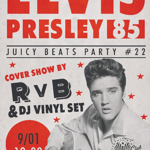 Elvis 85: cover-show and Vinyl-set