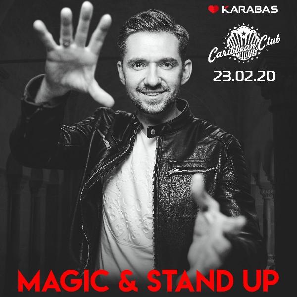«Magic and Stand Up Show» від ілюзіоніста Roman Bondarchuk