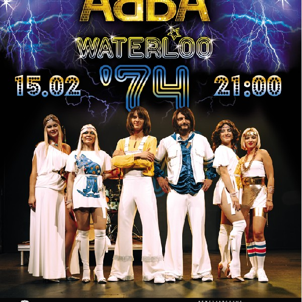 Tribute show «ABBA» - band Waterloo'74
