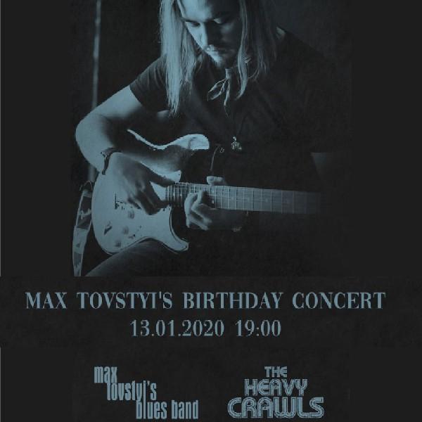 Max Tovstyis birthday concert