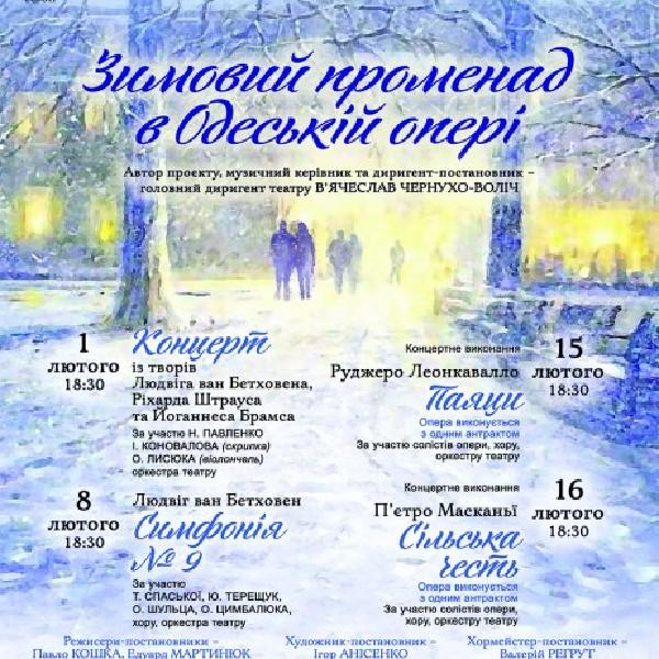 """""""Зимовий променад"""" 9 Симфонія Л. Бетховена"""