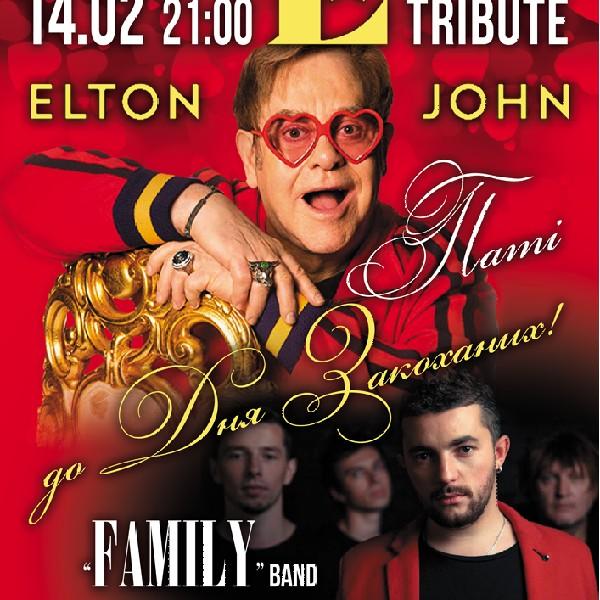 Tribute «Elton John» Band «Family»