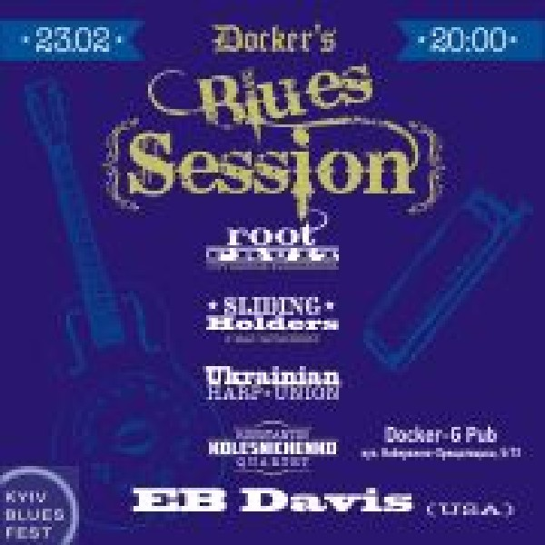 Docker's Blues Session