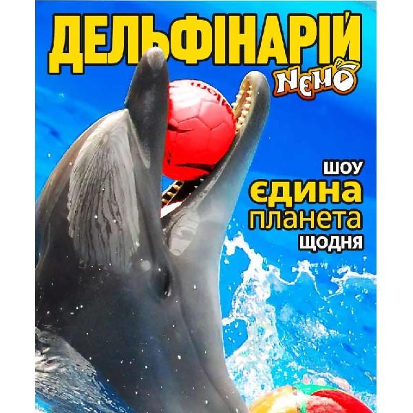Дельфинарий «NEMO». Шоу «Единая планета»