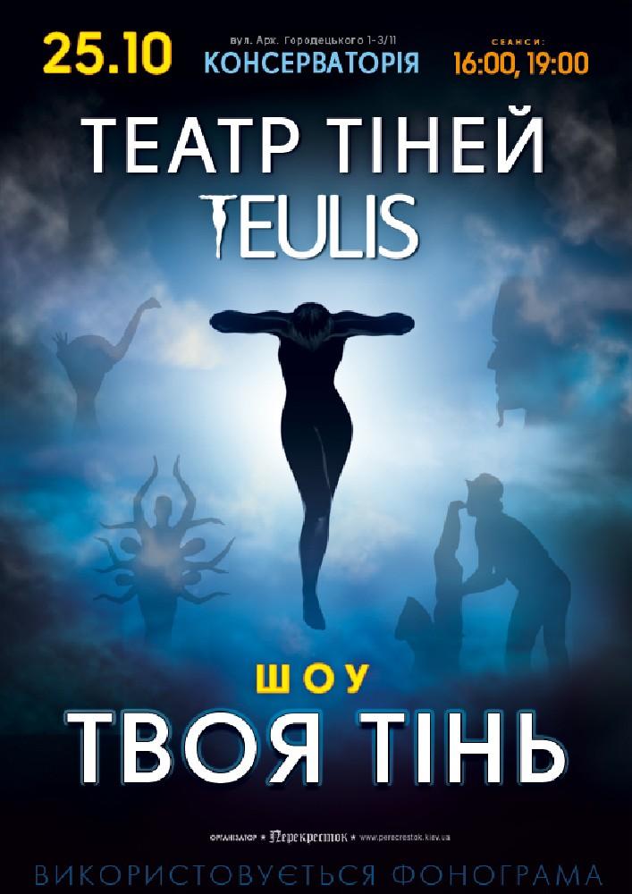 Купить билет на Театр Теней «Teulis» в Киевская Консерватория Киевская Консерватория