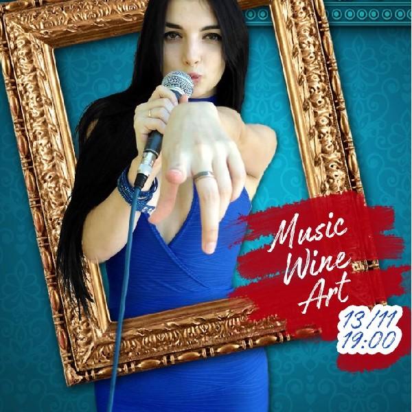 Music Wine Art
