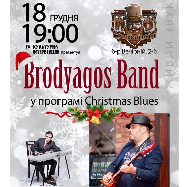 Brodyagos Band у програмі Christmas Blues