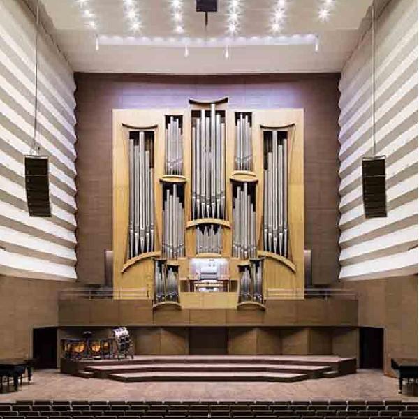 Дивовижне співзвуччя органа та саксофона