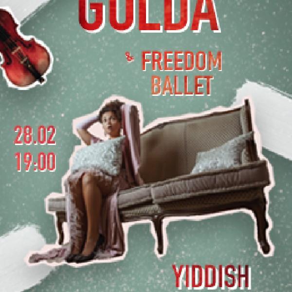 GOLDA. Yiddish Jazz Show