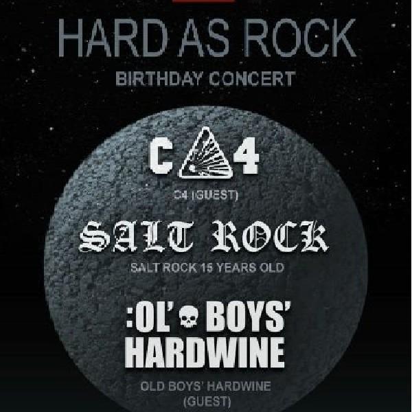 День Народження гурту SALT ROCK. 15 років