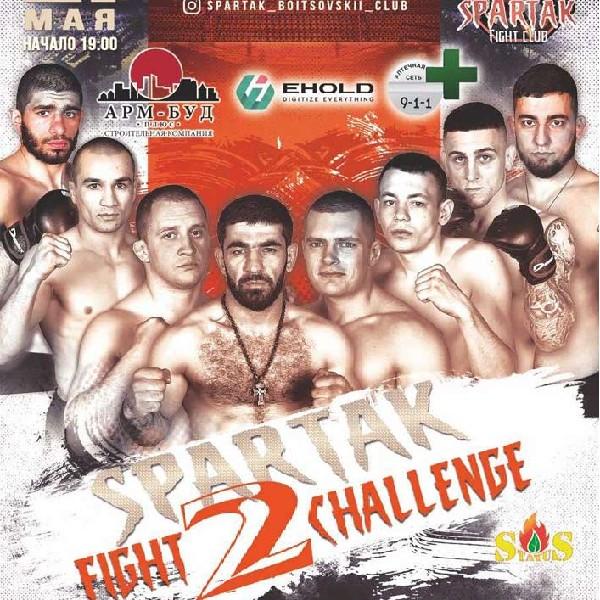 SpArtak Fight Challenge 2