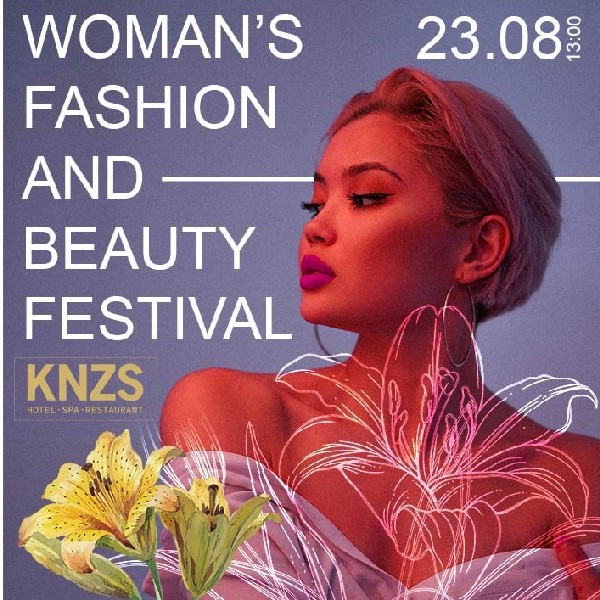 Woman's beauty and fashion festival