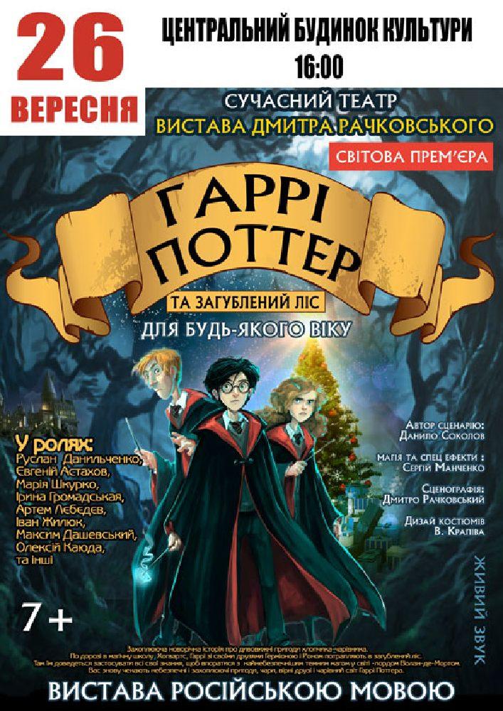 Купить билет на Гарри Поттер в Центральный дом культуры Зрительный зал