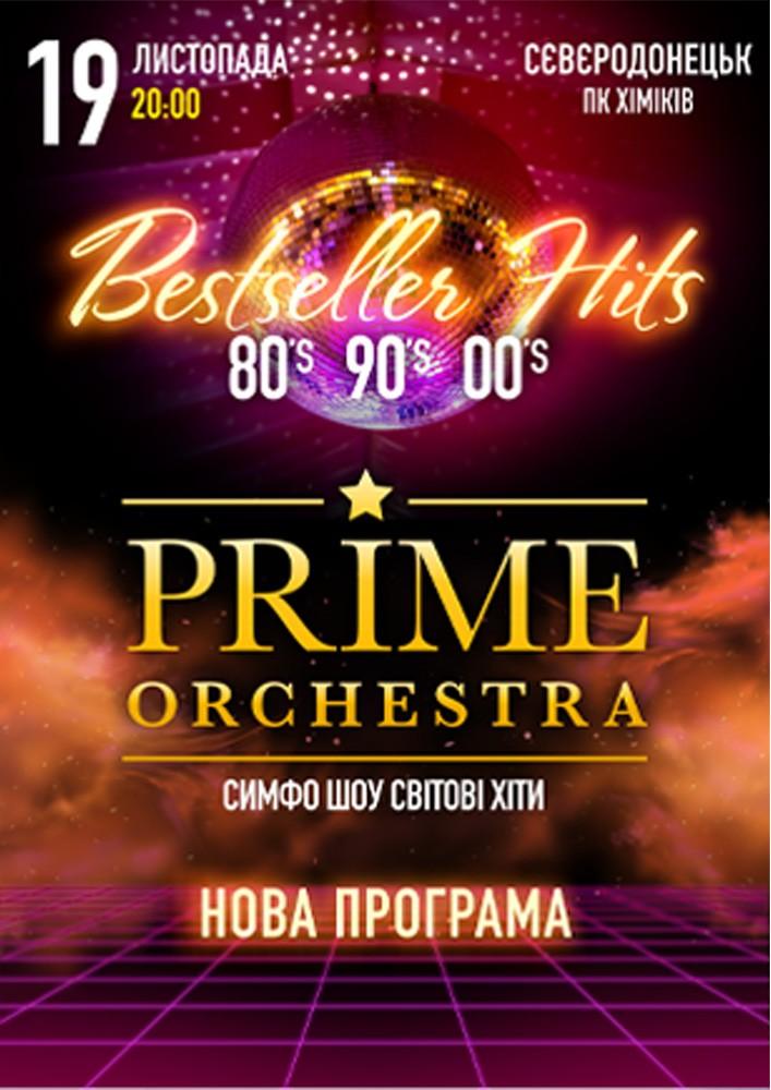 Купить билет на PRIME ORCHESTRA. «Bestseller hits» в ДК Химиков Центральный зал